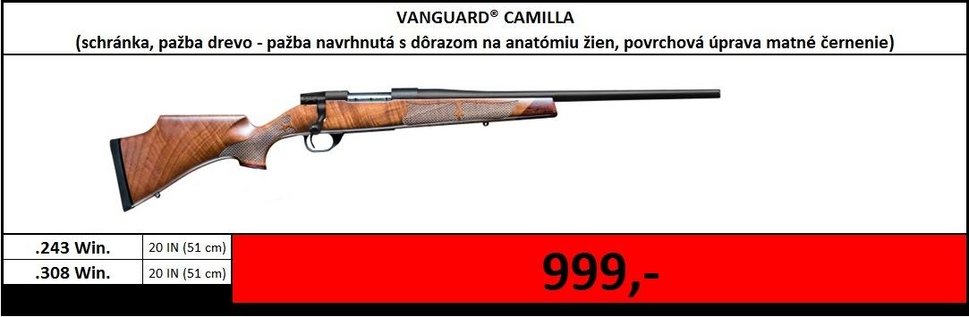 Výpredaj skladu - Vanguard Camilla