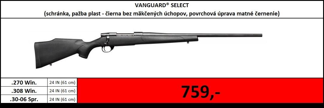 Výpredaj skladu - Vanguard Select