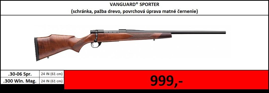 Výpredaj skladu - Vanguard Sporter