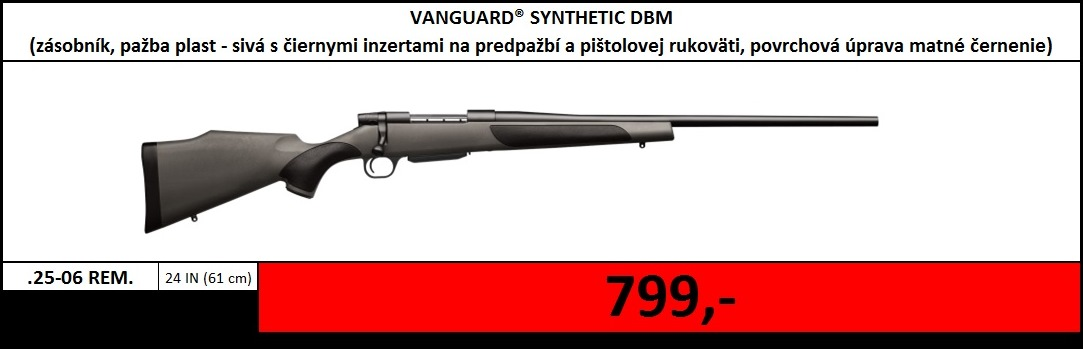 Výpredaj skladu - Vanguard Synthetic DBM