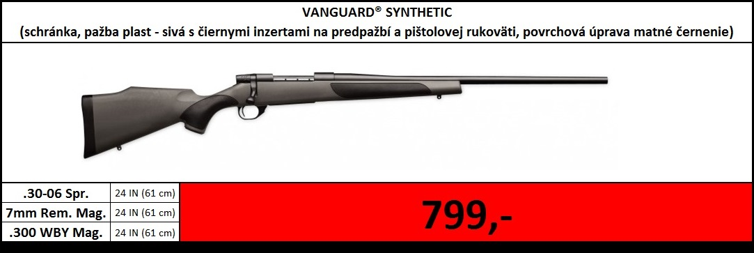 Výpredaj skladu - Vanguard Synthetic