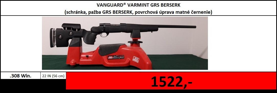 Výpredaj skladu - Vanguard Varmint GRS Berserk