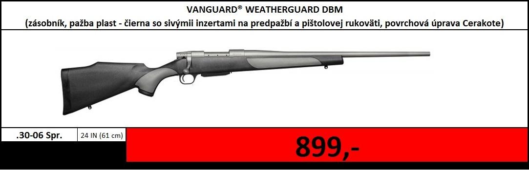 Výpredaj skladu - Vanguard Weatherguard DBM