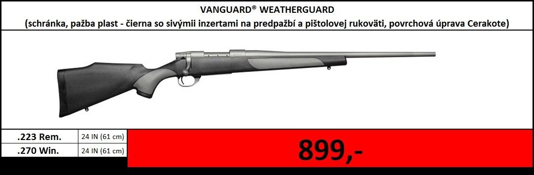 Výpredaj skladu - Vanguard Weatherguard